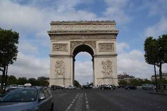 Hotel Paris-Rome: Arc De Triumphe