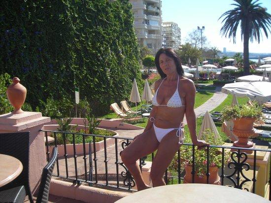 Hotel Fuerte Marbella: il bar panoramico