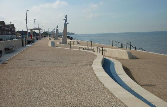 Thornton Cleveleys, UK: Seafront