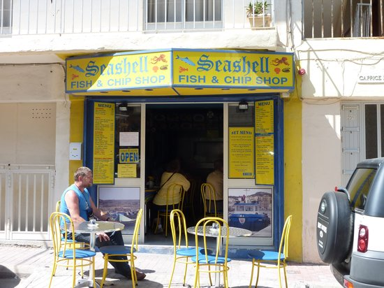 Seashell Fish & Chip Shop: SEASHELL