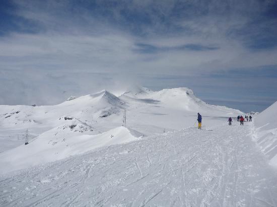 Hapimag Resort Flims : Blick von der zweithöchsten Stelle des Skigebiets
