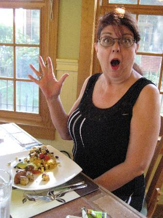 Yates House Bed & Breakfast: hamming it up - no pun intended!