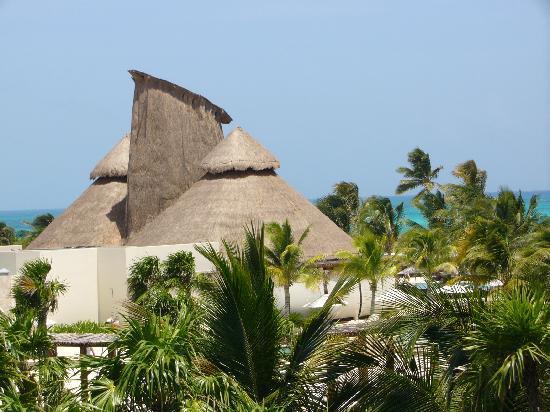 Secrets Maroma Beach Riviera Cancun: vue de notre balcon