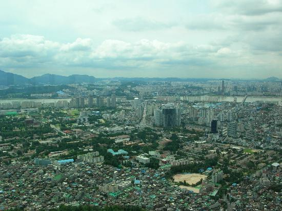 Seoul, South Korea: Blick von oben