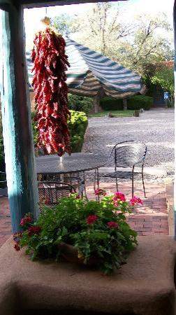 Pueblo Bonito Bed and Breakfast Inn: View from our front door