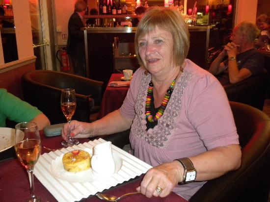 Hotel Kistor: Bread & Butter Pudding (dessert)