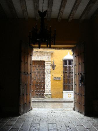 Casa Pestagua Hotel Boutique, Spa: Front doors