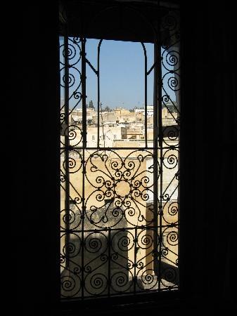 Dar Sienna: View of medina from bedroom
