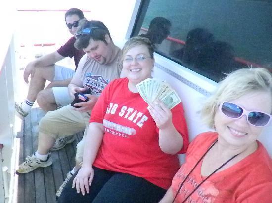 Fort Pierce Lady Deep Sea Fishing: After winning the fish pool
