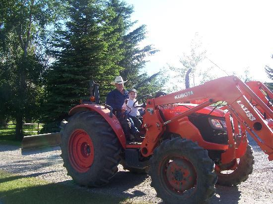 Rocking R Guest Ranch: The Wee Red Tractor
