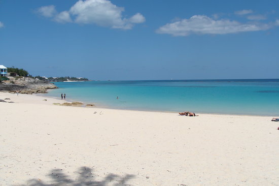 Bermudy: John Smith Bay Beach