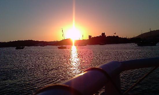 Hotel Istankoy Bodrum: Bodrum Sunset
