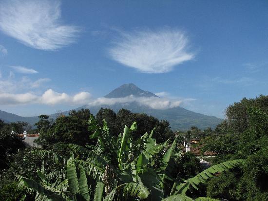 Meson Panza Verde : Blick von der Dachterrasse