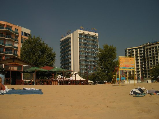 Palace Hotel: View from the beach