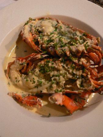 De Barge Hotel: Hum, le homard !