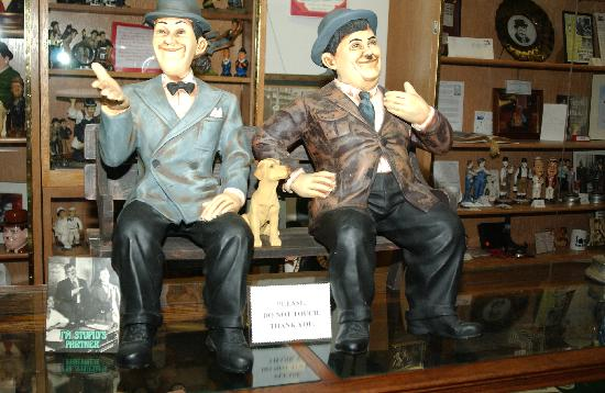The Laurel and Hardy Museum of Harlem, Georgia: A lot to see