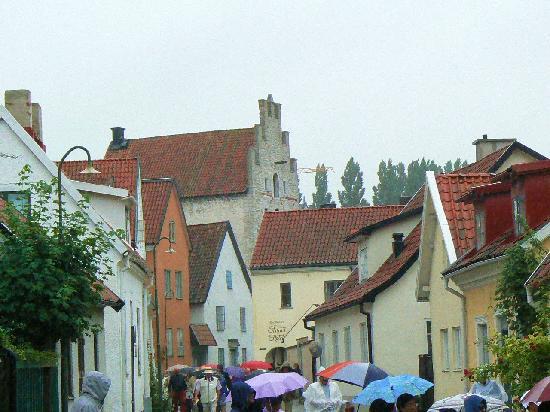 Visby, Suecia: Bellísimo centro de la ciudad