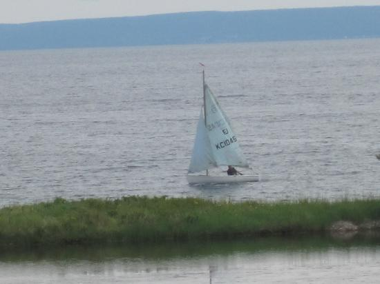 International Motel: Sailing in the Bras D'Or Lake, Cape Breton NS