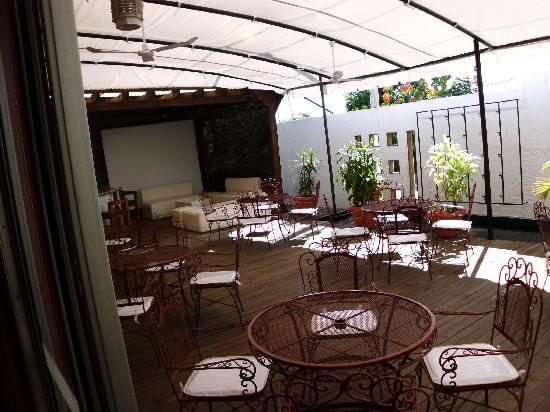 Casa Luna: outdoor area