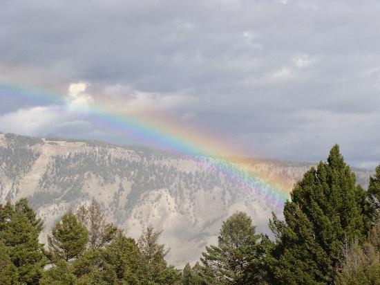 Sassy Moose Inn: yellowstone rainbow