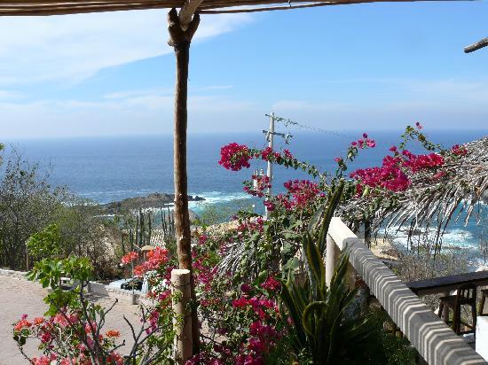 Mazunte, México: balcony view