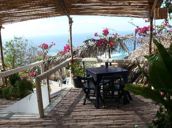 Mazunte, México: terrace