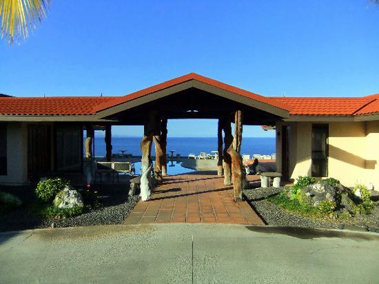 Makai Hale: entrance