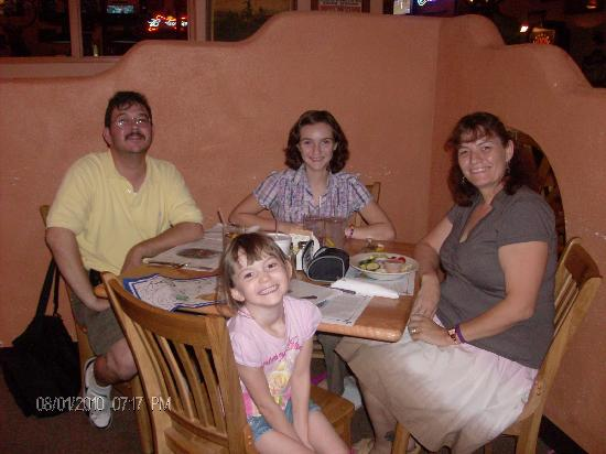 Johnny Ringos Bar and The Depot Steakhouse : The family at The Depot Restaurant Tombstone AZ Aug 2010