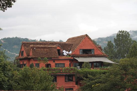 Dhulikhel, Nepal: Main building and Restaurant with open terrace