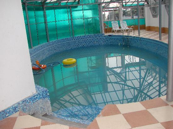 Hotel Dalhousie Heights: only swiming pool in dalhousie