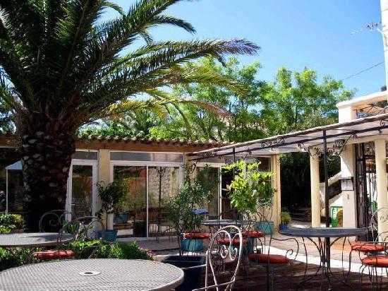 Hôtel Villa Florida : terrasse