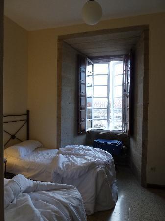 Hospederia San Martin Pinario: Our room