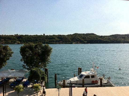 Hotel Lepanto: Blick auf den Gardasee