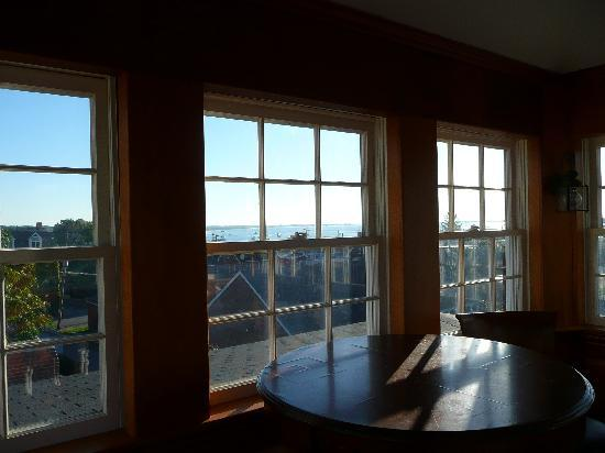 Compass Rose Inn: The look out at the top of the house