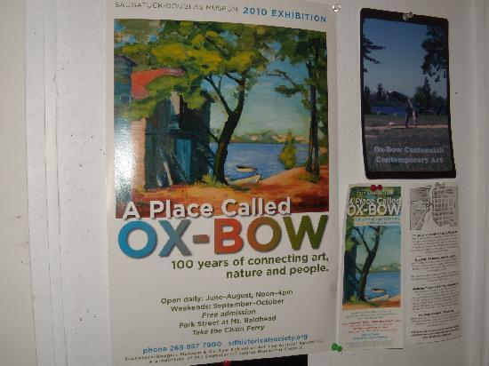 Saugatuck Harbor Inn : The world famous Oxbow Arts Colony, now 100 years.
