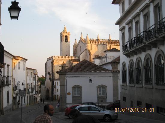 Innenstadt Evora mit Katedrale