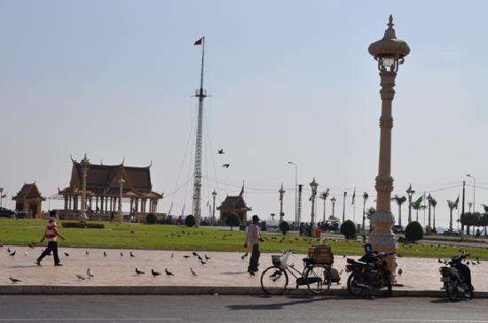 Dara Reang Sey Hotel Phnom Penh: view