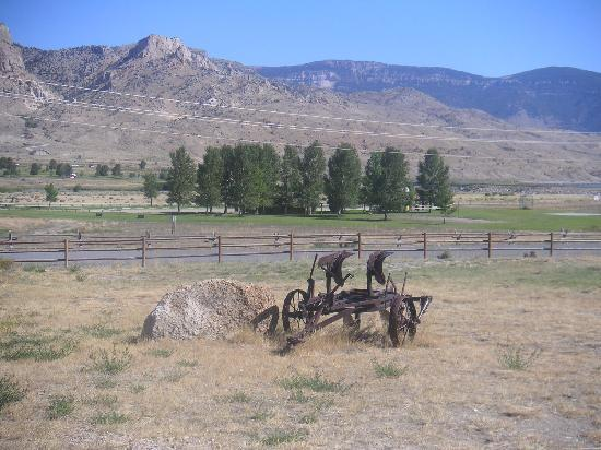 Schmalz's Red Pole Ranch and Motel: The view from our bedroom window