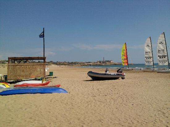 Baia Samuele Hotel Villaggio: area sport di mare