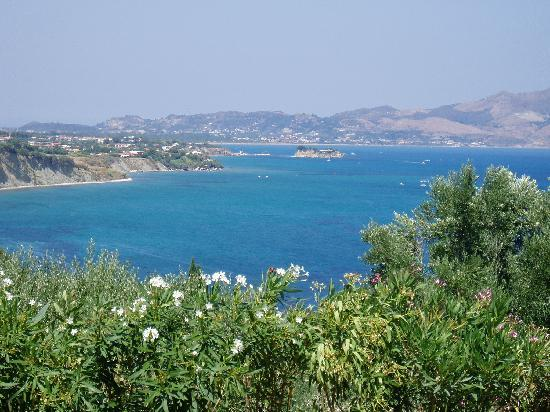 Limni Keri, Hellas: The view from our villa's garden