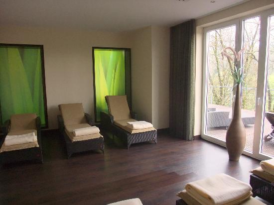 Romantik Wellnesshotel Diedrich: Ruhebereich Sauna