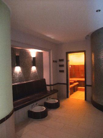 Romantik Wellnesshotel Diedrich: Saunabereich