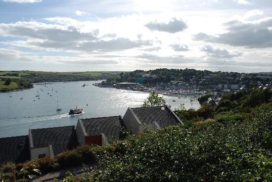 Kinsale from the hills