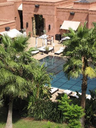 Crystal Hotel : chambre vue piscine