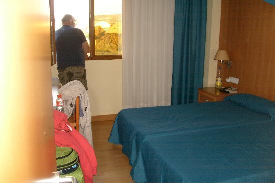 Hotel Estrella del Alemar: room with a view