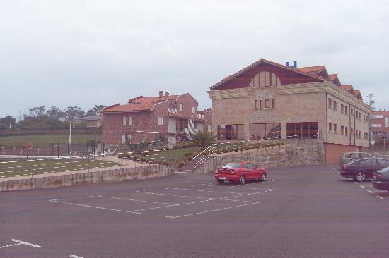 Hotel Estrella del Alemar: front of hotel