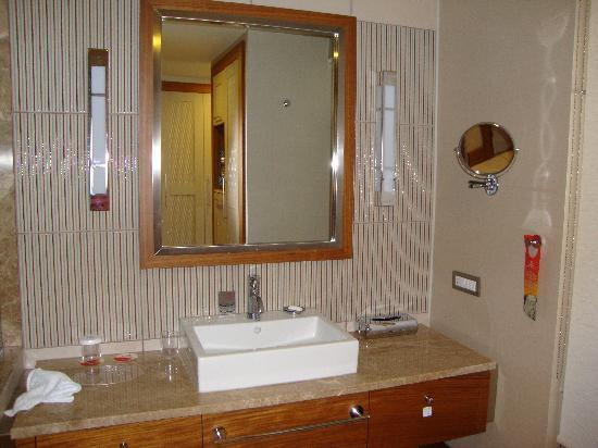 Hilton Dalaman Sarigerme Resort & Spa: Bathroom Vanity