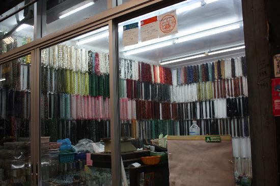 Chatuchak Weekend Market: Beads