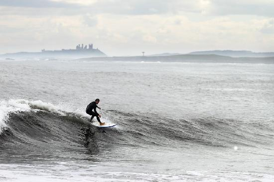 Alnwick, UK: Surfing