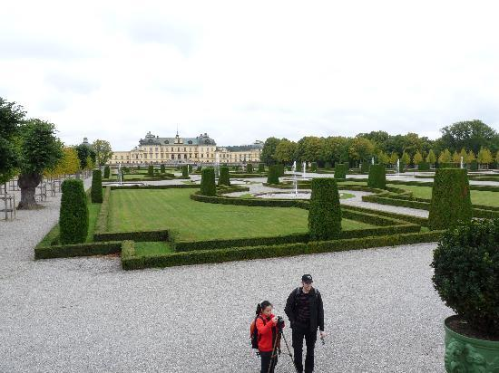 Drottningholm Palace: In the garden.